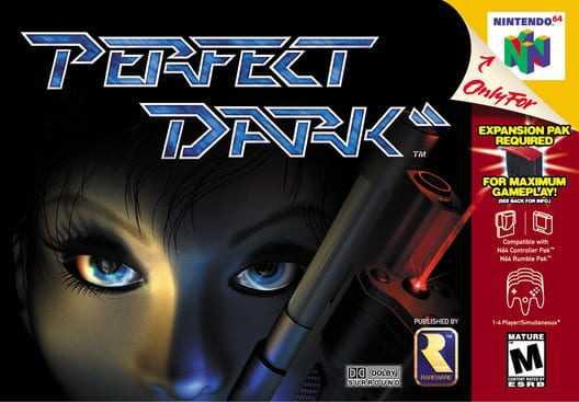 Capa do jogo Perfect Dark