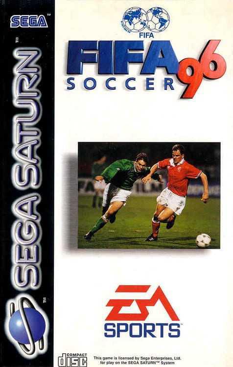 Capa do jogo FIFA Soccer 96