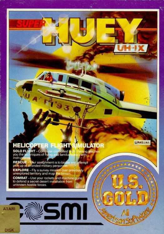 Capa do jogo Super Huey UH-1X