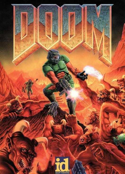 Capa do jogo Doom
