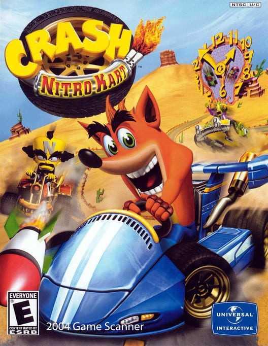 Capa do jogo Crash Nitro Kart