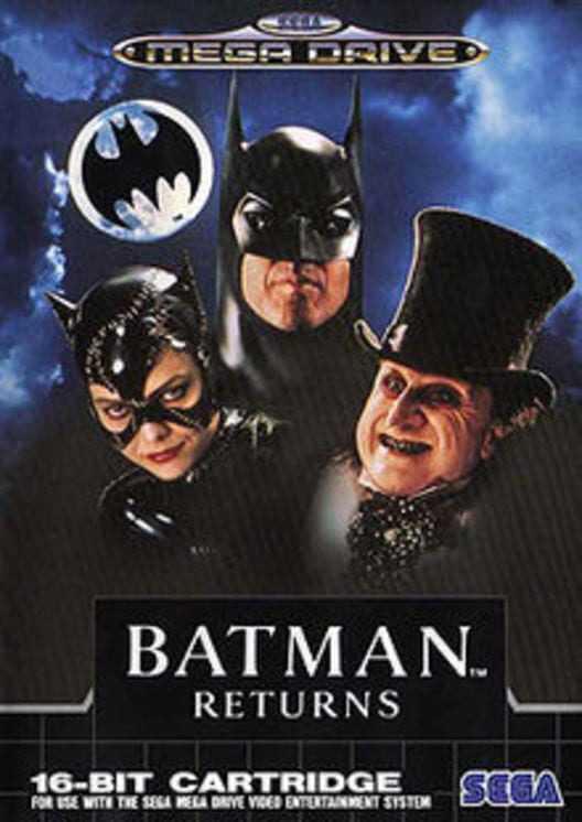 Capa do jogo Batman Returns