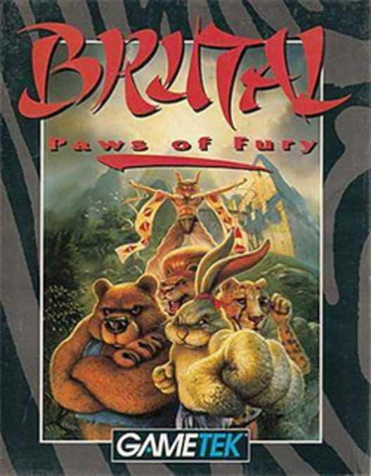 Capa do jogo Brutal: Paws of Fury