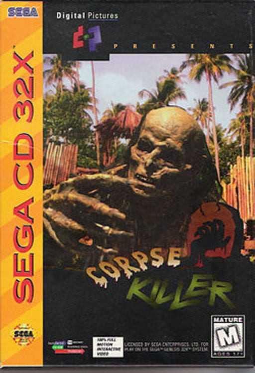 Capa do jogo Corpse Killer