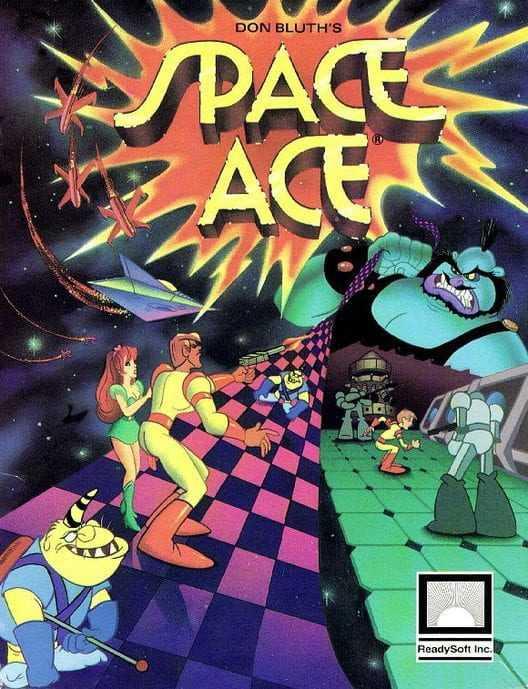 Capa do jogo Space Ace