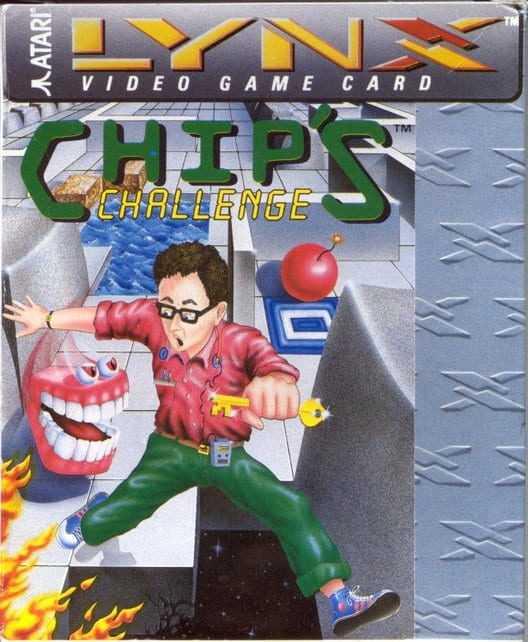 Capa do jogo Chip's Challenge