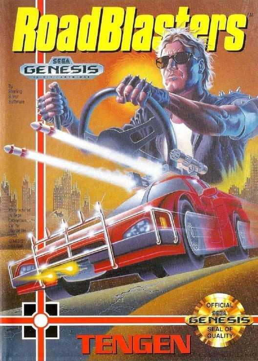 Capa do jogo RoadBlasters