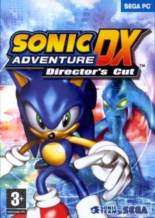 Capa do jogo Sonic Adventure DX