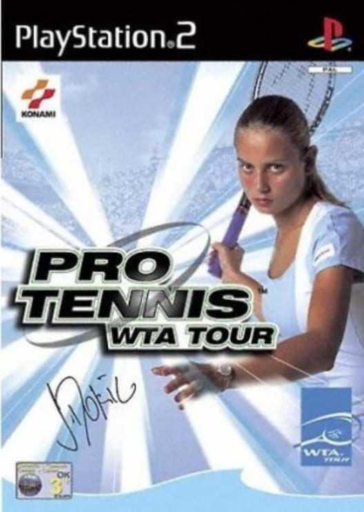 Capa do jogo Pro Tennis WTA Tour