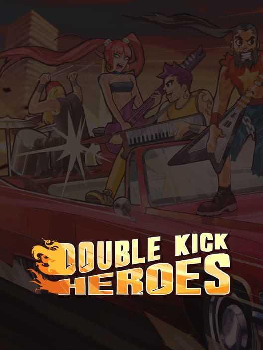 Capa do jogo Double Kick Heroes