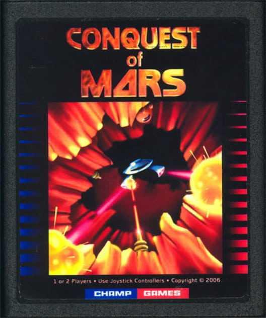 Capa do jogo Conquest of Mars