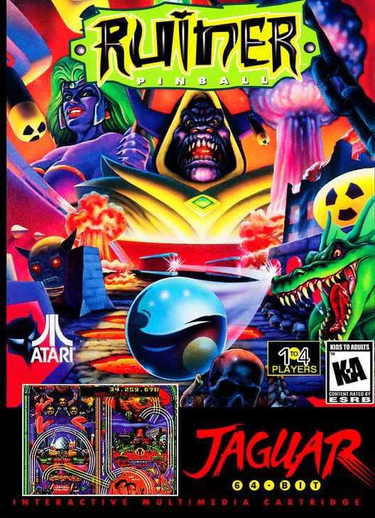 Capa do jogo Ruiner Pinball