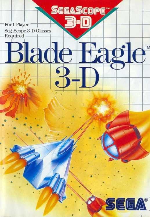 Capa do jogo Blade Eagle 3-D
