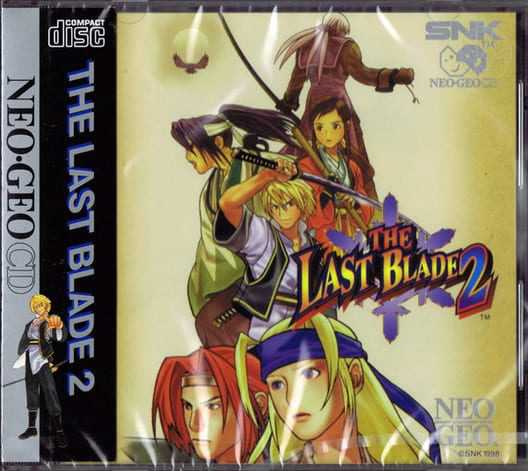Capa do jogo The Last Blade 2: Heart of the Samurai