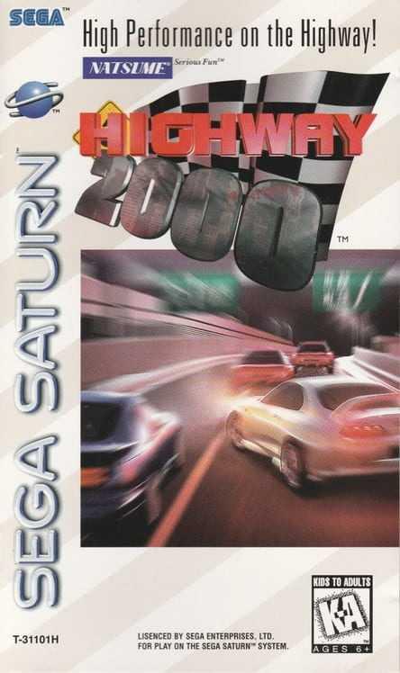 Capa do jogo Highway 2000