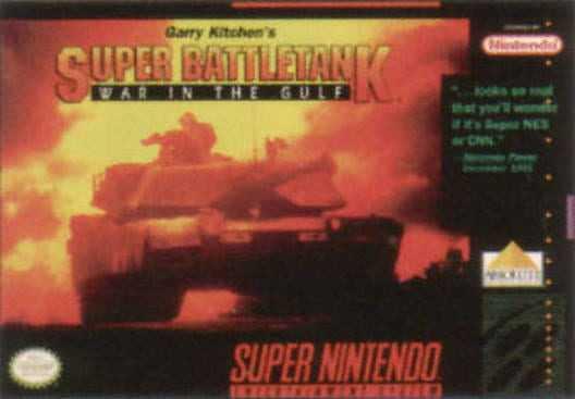 Capa do jogo Garry Kitchen's Super Battletank: War in the Gulf
