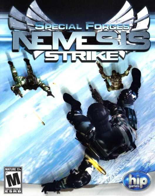 Capa do jogo Special Forces Nemesis Strike
