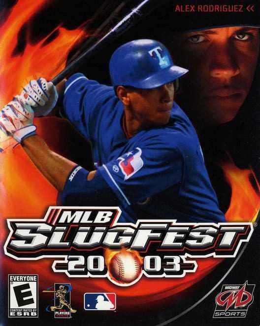Capa do jogo MLB Slugfest 2003