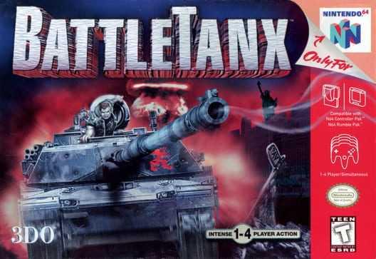 Capa do jogo BattleTanx