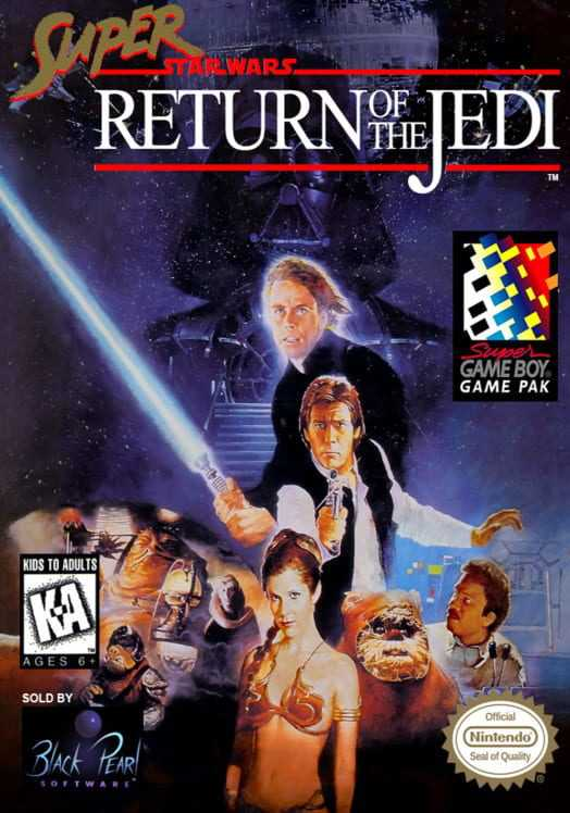 Capa do jogo Super Star Wars: Return of the Jedi