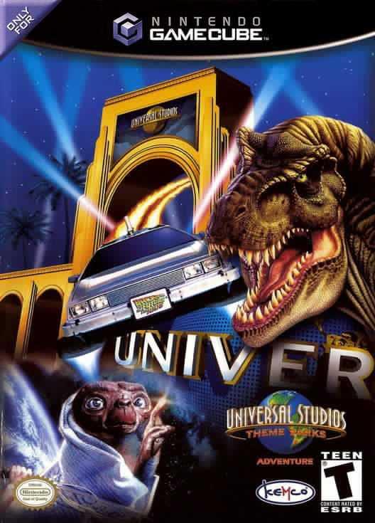 Capa do jogo Universal Studios Theme Park Adventure