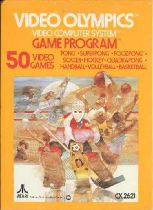 Capa do jogo Video Olympics