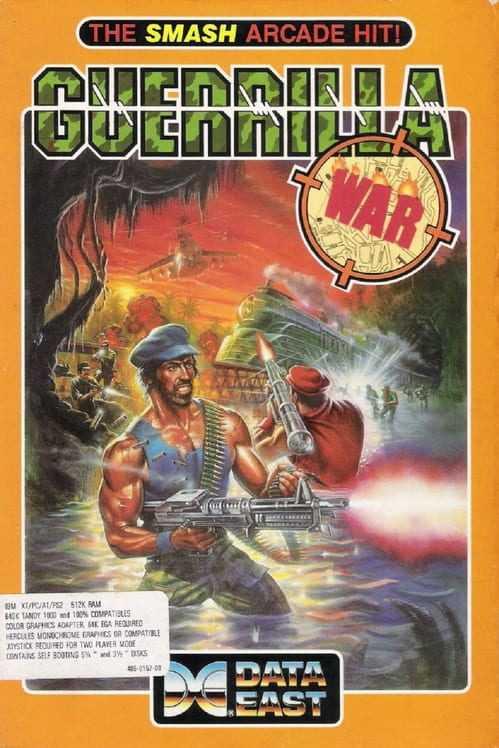 Capa do jogo Guerilla War