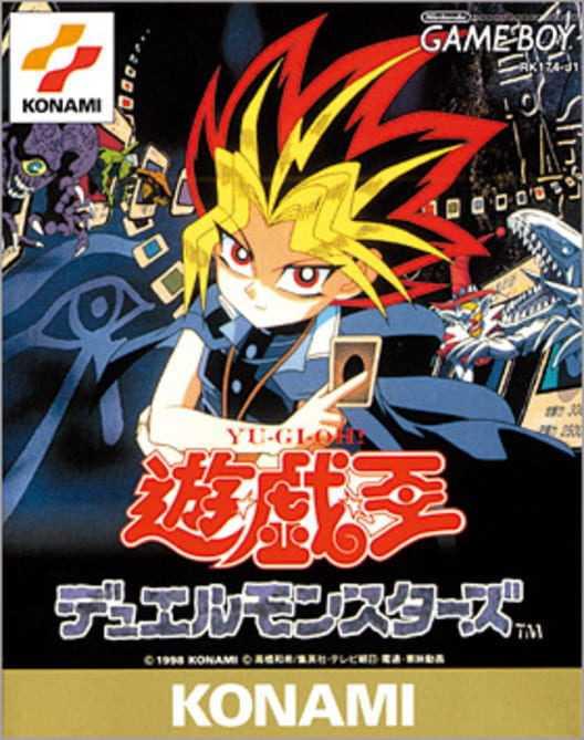 Capa do jogo Yu-Gi-Oh! Duel Monsters