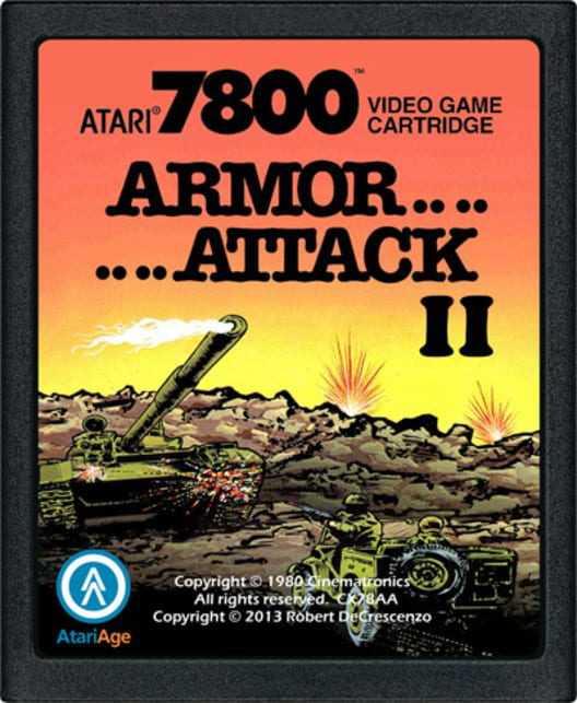 Capa do jogo Armor Attack II