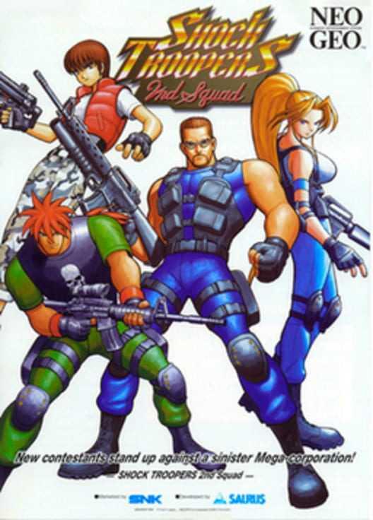 Capa do jogo Shock Troopers: 2nd Squad