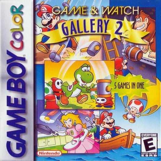Capa do jogo Game & Watch Gallery 2