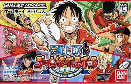 Capa do jogo One Piece: Going Baseball