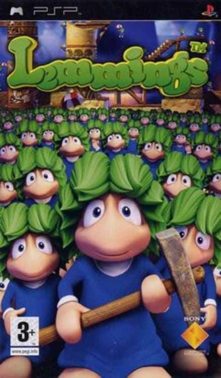 Capa do jogo Lemmings