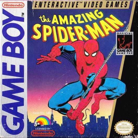 Capa do jogo The Amazing Spider-Man