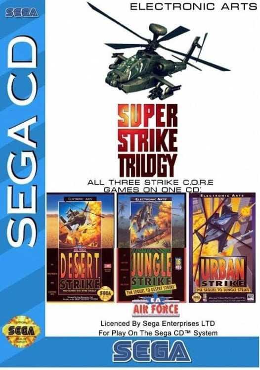 Capa do jogo Super Strike Trilogy