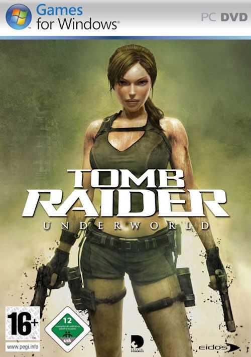 Capa do jogo Tomb Raider Underworld