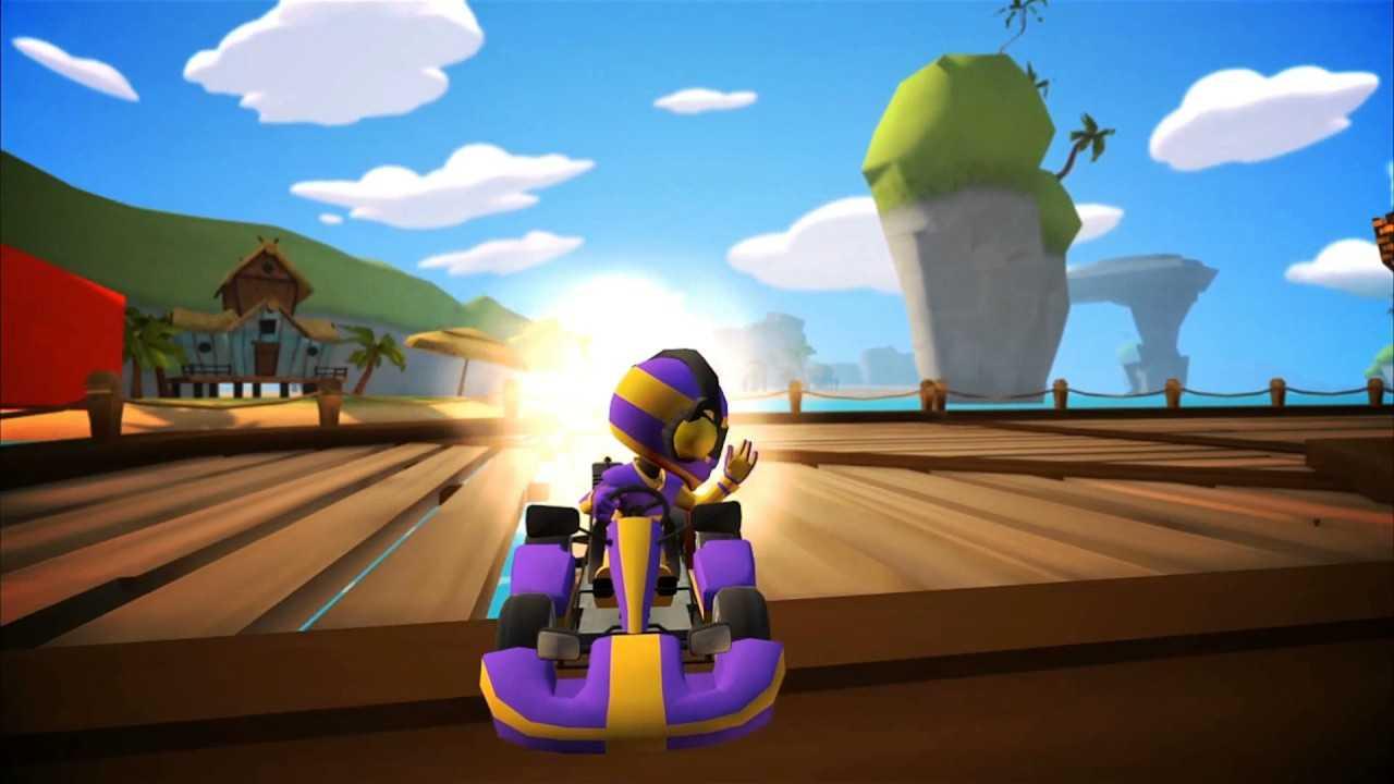 Capa do jogo VR Karts