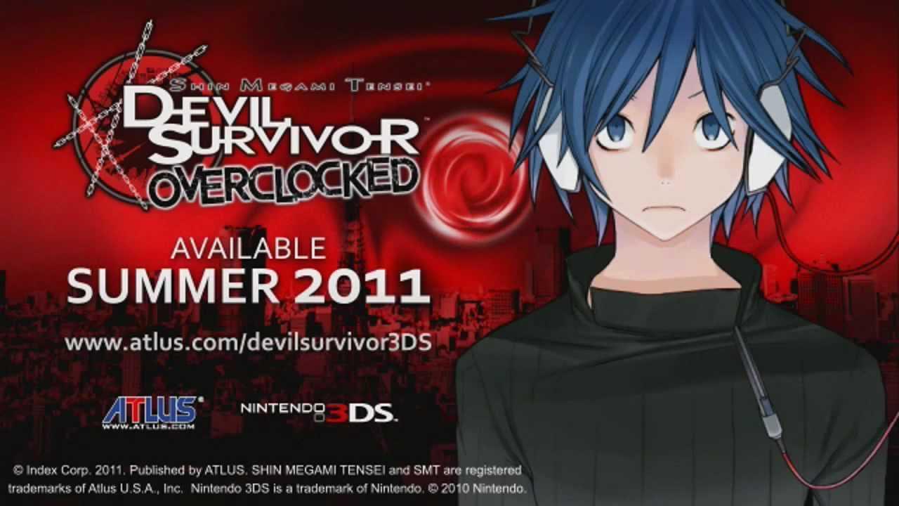 Capa do jogo Shin Megami Tensei: Devil Survivor Overclocked