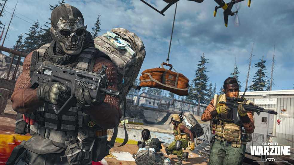 Capa do jogo Call of Duty: Warzone