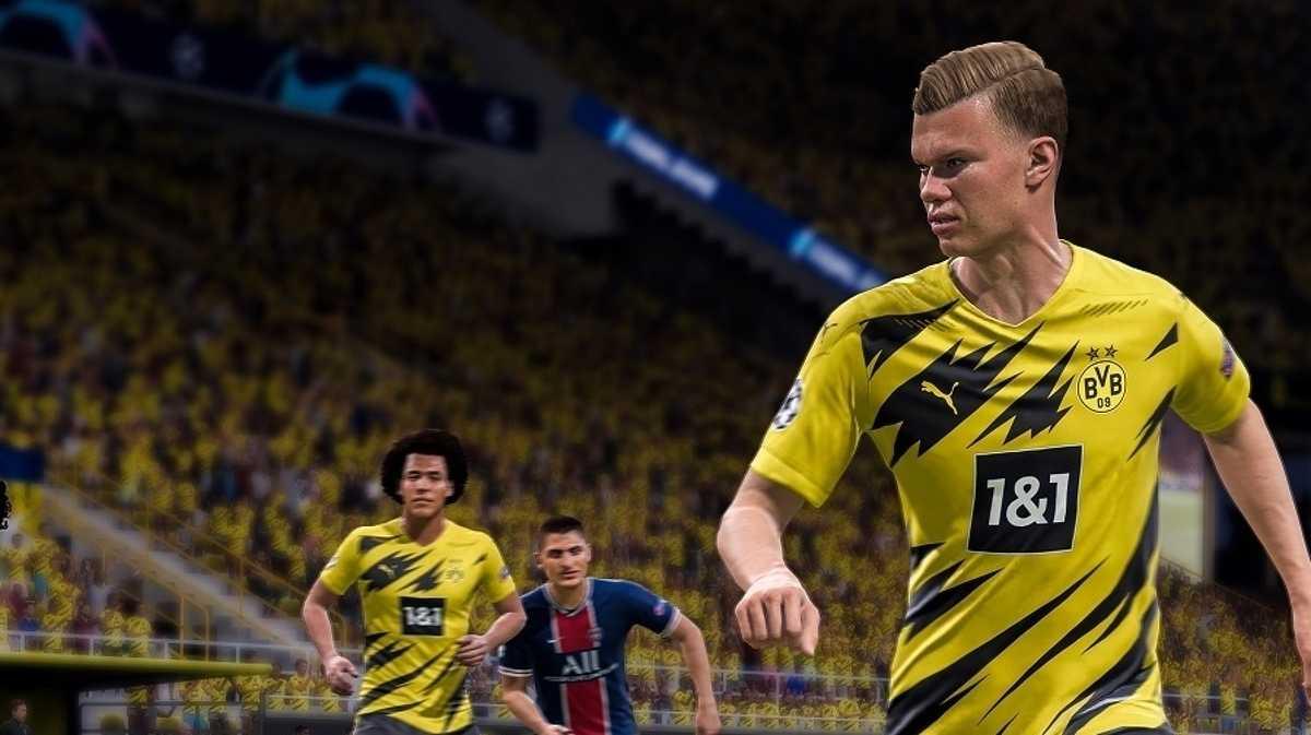Capa do jogo FIFA 21