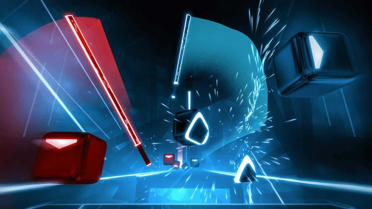 Capa do jogo Beat Saber