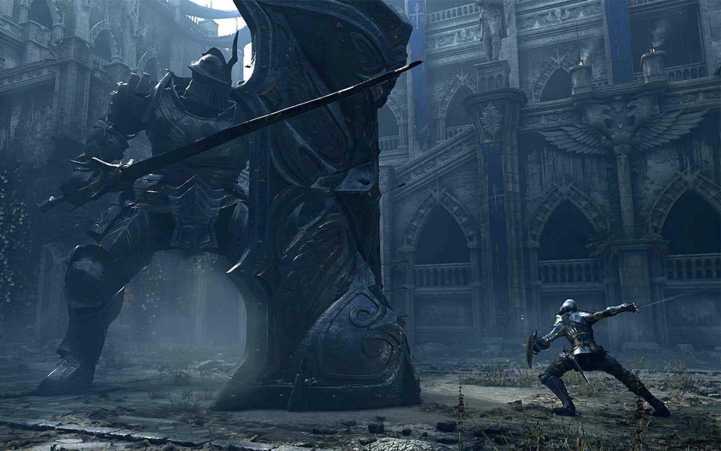 Capa do jogo Demon Soul's Remake