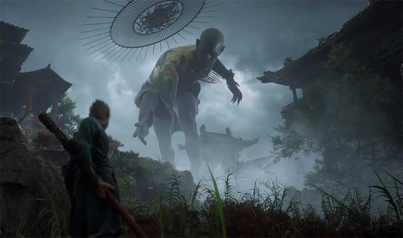 Capa do jogo Black Myth: Wu Kong