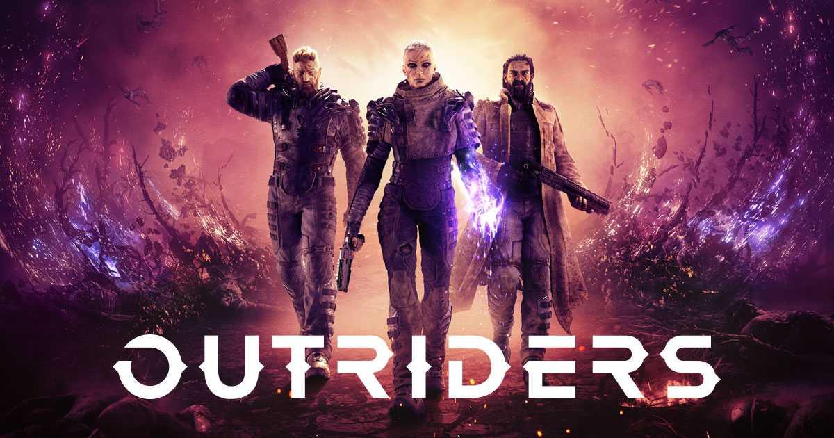 Capa do jogo Outriders