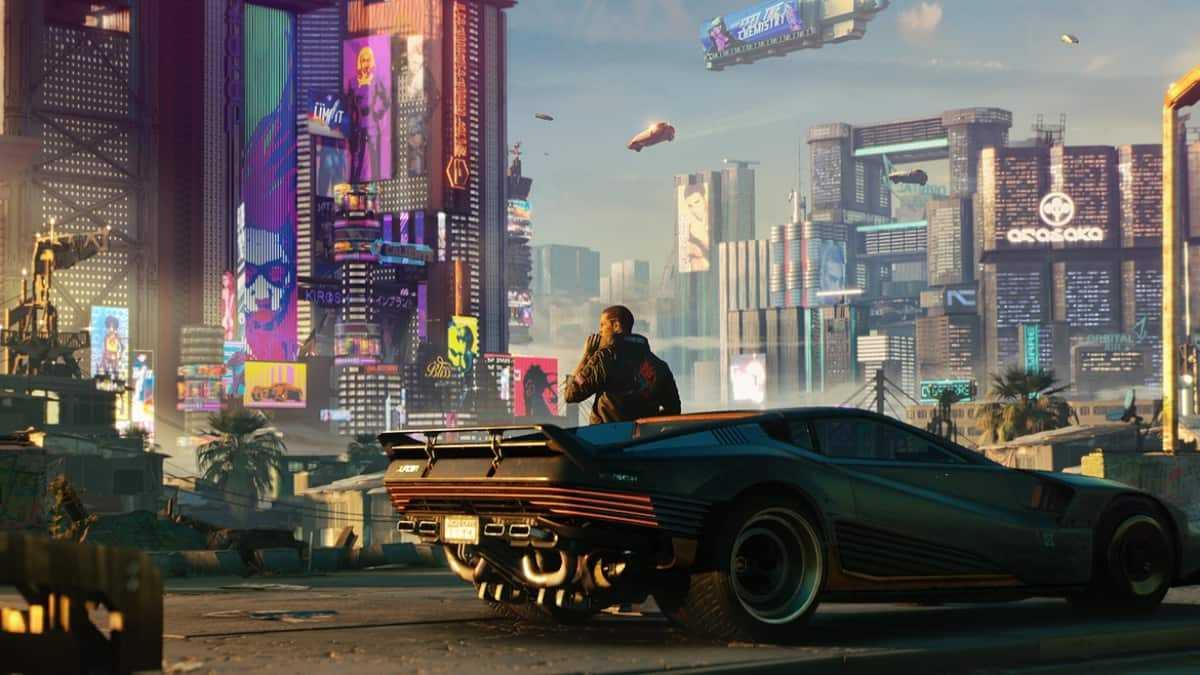 Capa do jogo Cyberpunk 2077