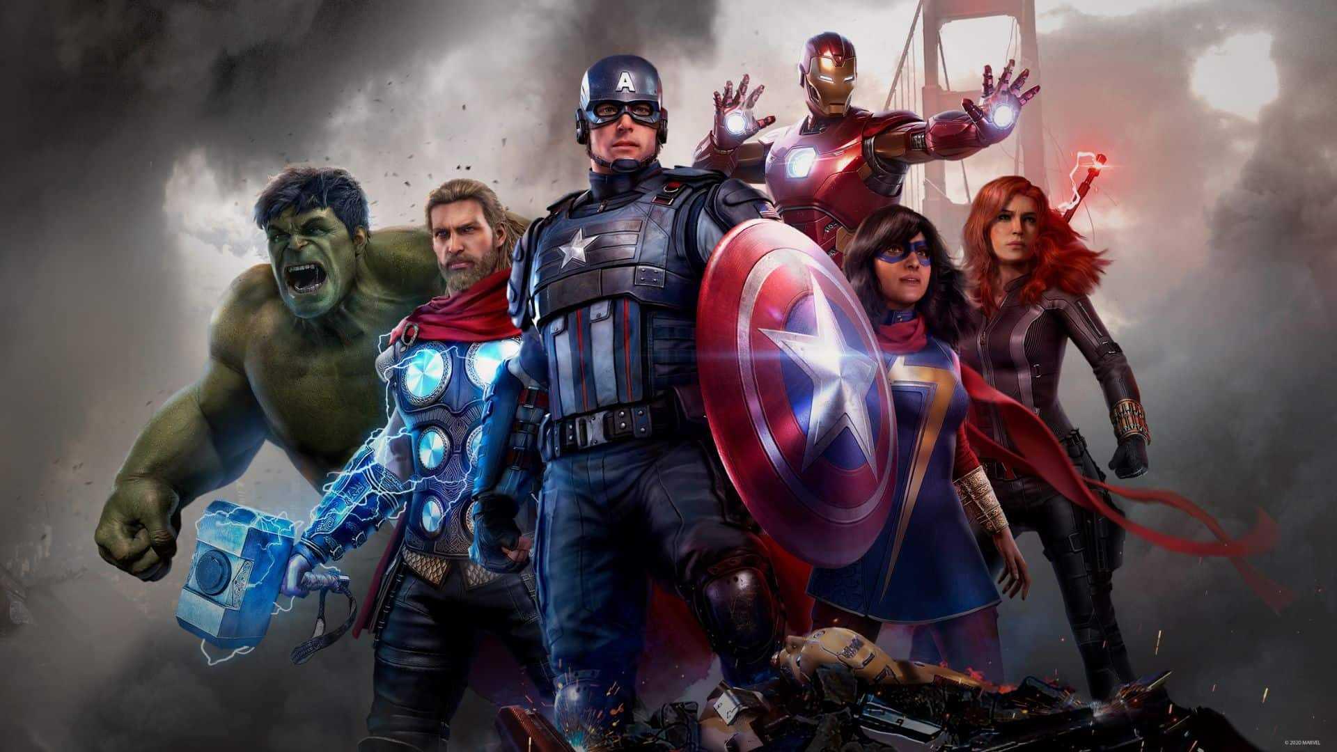 Encontraram outros heróis no código da beta de Marvel's Avengers