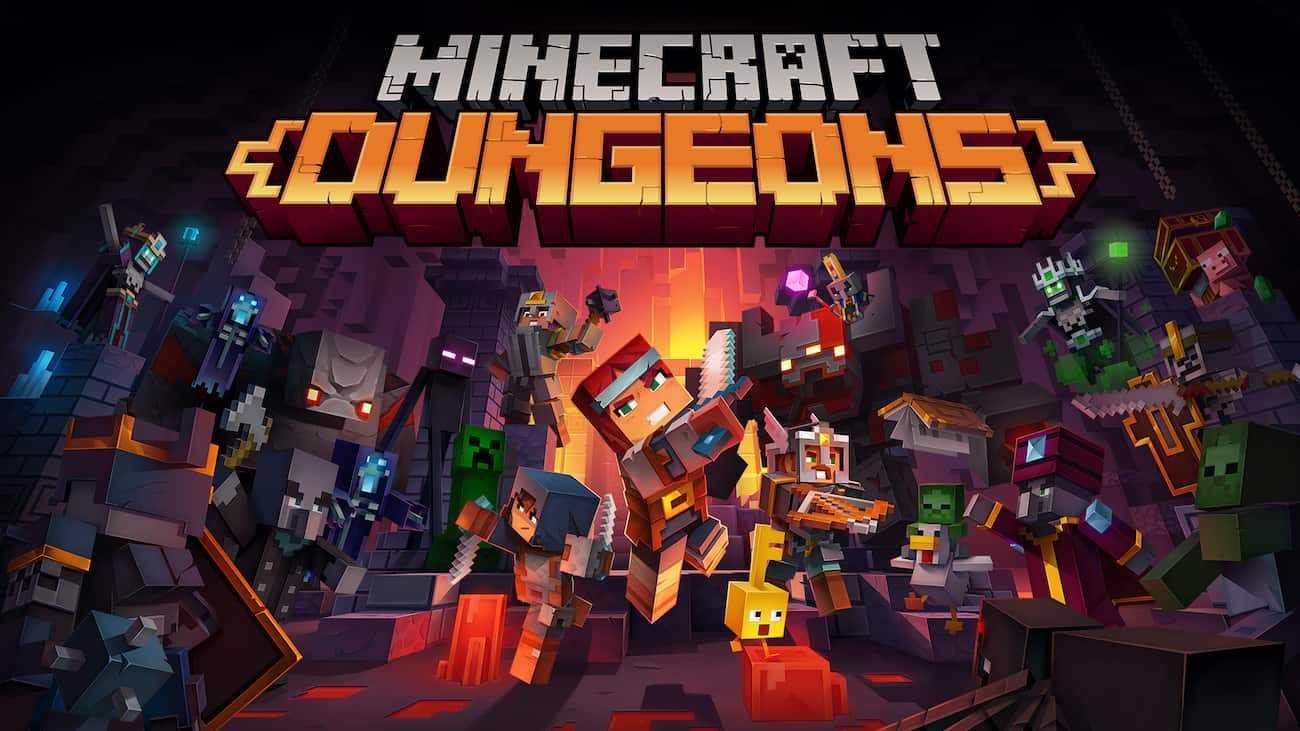 Minecraft Dungeons vai ganhar mídia física, DLC e novidades em setembro