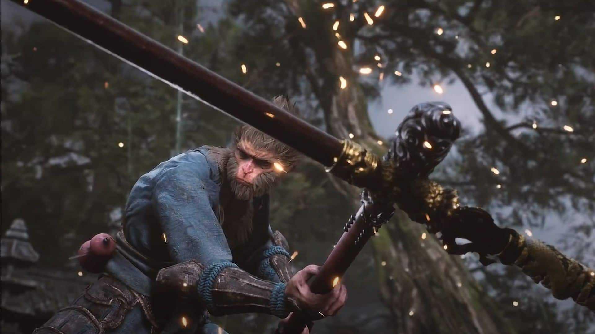 Black Myth: Wukong recebe teaser mostrando protagonista no meio de muita ação