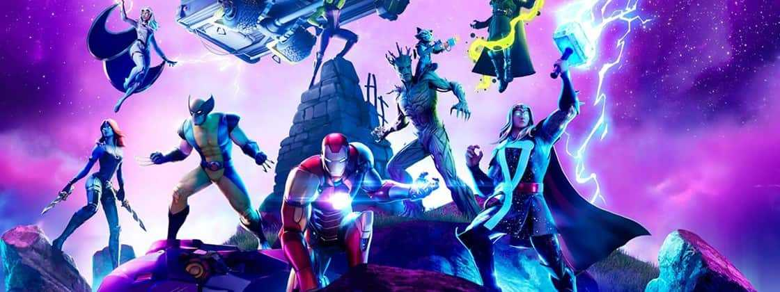 Chegou a quarta temporada de Fortnite focada nos personagens da Marvel