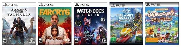 Jogos de PlayStation 5 a venda na Amazon